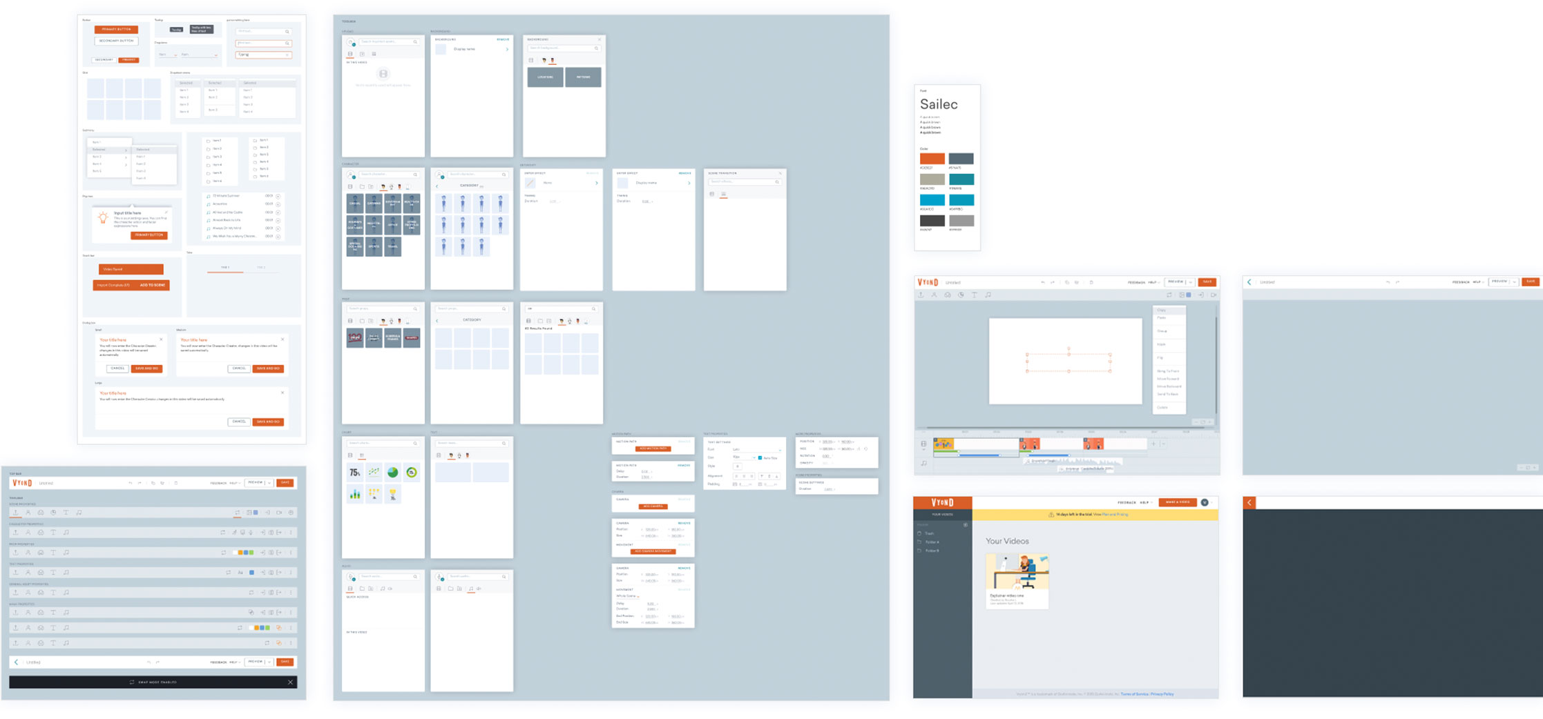 A common UI kit was created in Sketch for designers to use. They can quickly construct layouts and flows using consistent pre-made, editable and flexible Sketch symbols.